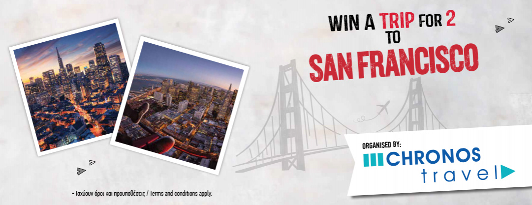 Win a San Francisco TRIP!
